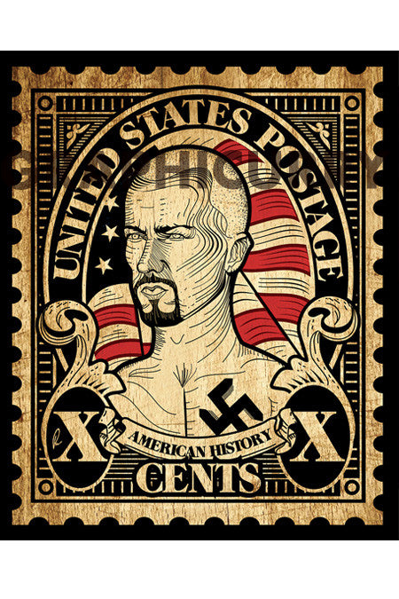 American History Stamp Wall Art