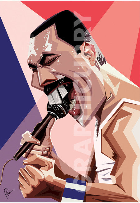 Freddie Wall Art by Graphicurry