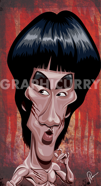 Bruce Lee Wall Art by Graphicurry