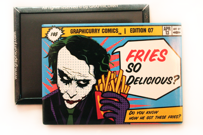 Food Comic Magnet by Graphicurry