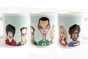 Big Bang Mug by Graphicurry