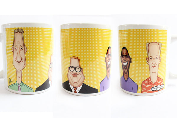 Who's Line Art Mug by Graphicurry