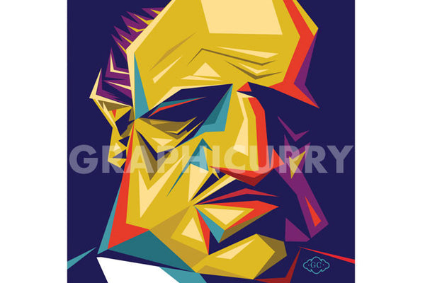 Godfather SquarePop Art by Graphicurry