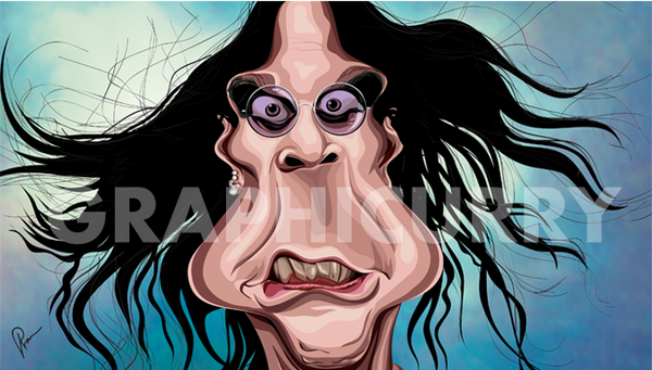 Ozzy Wall Art by Graphicurry