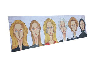 Evolution of Forever Meryl Wall Art