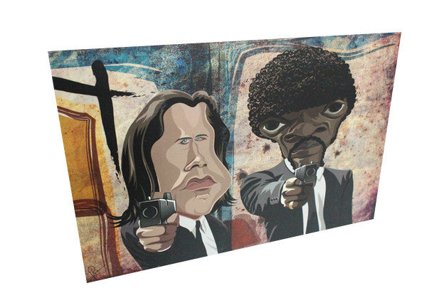 Jules And Vincent, Pulp Fiction Wall Art