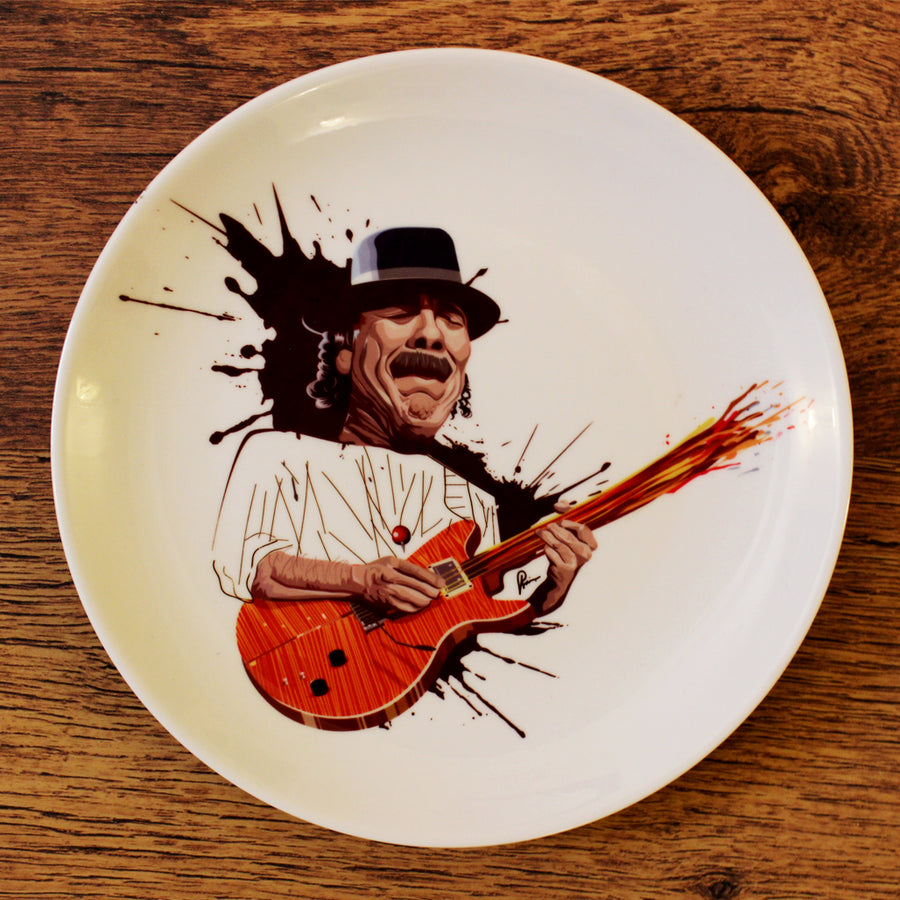 Santana Wall Decor Plate by Prasad Bhat