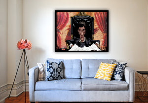 Scarface Exclusive Print by Prasad Bhat on Wall Decor.