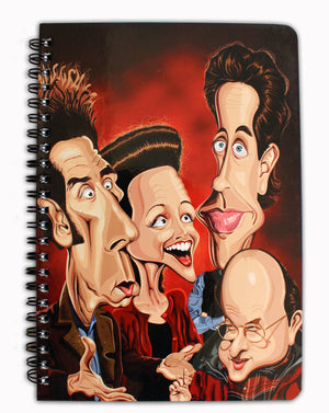 Seinfeld Tribute Notebook
