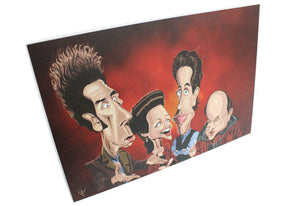 Seinfeld Tribute Wall Art