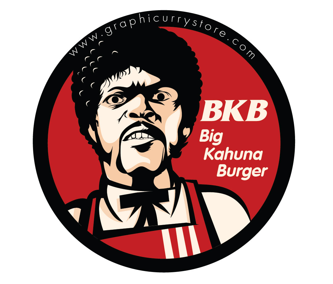Kahuna Burger Badge