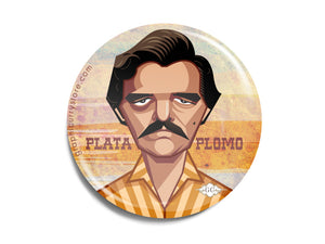 The Narcos Badge Prasad Bhat Art