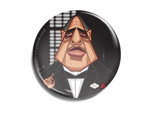 Godfather Badge Prasad Bhat Art