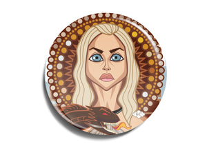 The Khaleesi Badge Prasad Bhat Art