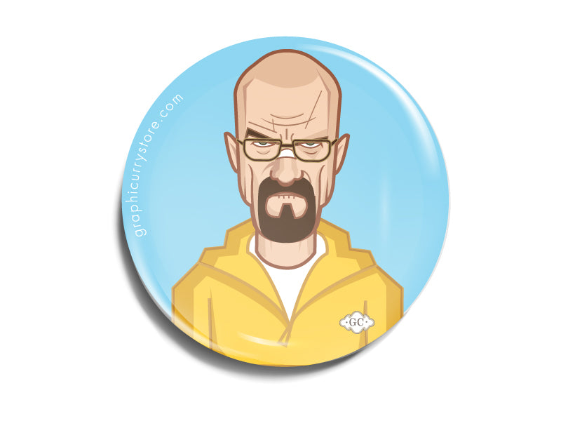 Breaking bad Badge Prasad Bhat Art