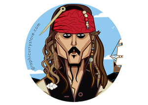 The Pirate One Badge