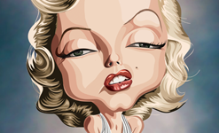 Monroe Wall Art by Graphicurry