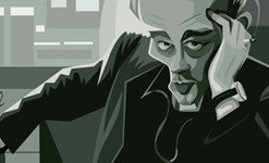 James Dean Wall Art by Graphicurry