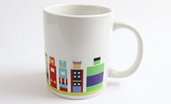 Super Art Mug by Graphicurry