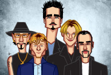 Backstreet Tribute Wall Art