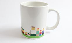 Toons Art Mug by Graphicurry