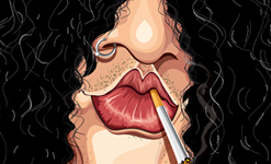 Slash Wall Art by Graphicurry