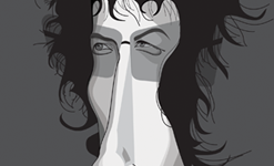 Bob Dylan Wall Art by Graphicurry