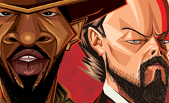 Django Tribute Wall Art by Graphicurry