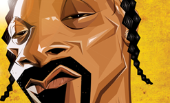 Snoop Wall Art by Graphicurry