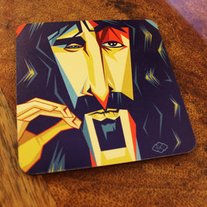 Zappa Square Pop Coaster