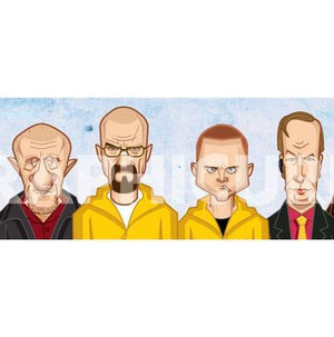Breaking Bad Caricature Art by Prasad Bhat, Graphicurry