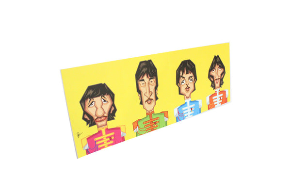 Beatles Tribute Wall Art