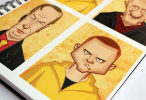 Walter, Pinkman and others Notebook
