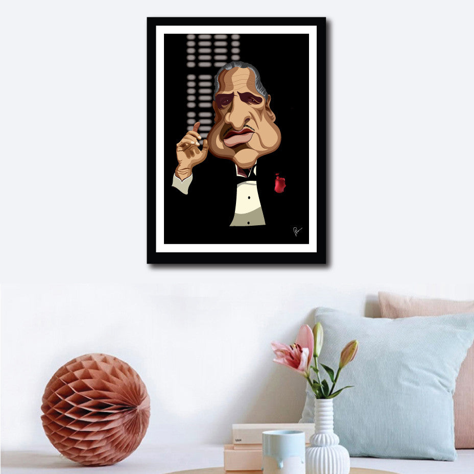 Godfather Poster - Graphicurry Store