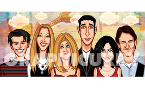 Tribute to Friends 2nd Edition Wall Art Laminate