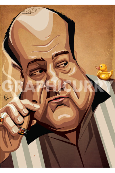 Sopranos Wall Art by Graphicurry