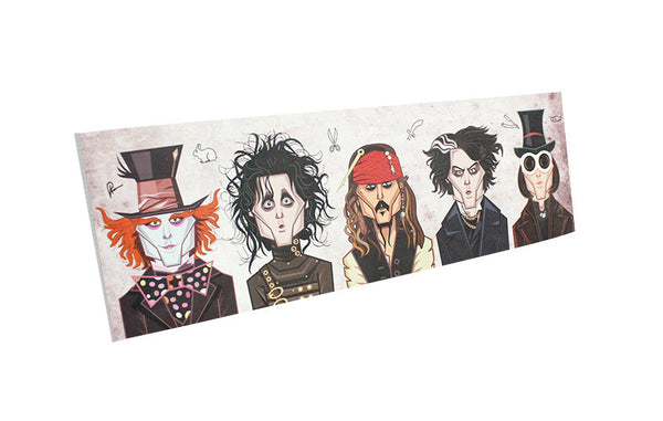 Johnny Depp Tribute Wall Art
