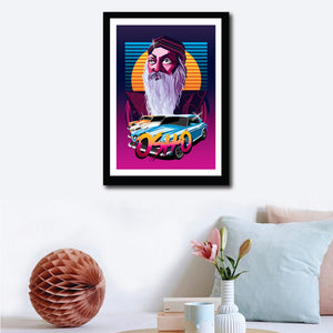 Osho Drive Poster