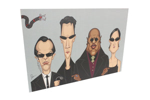 Matrix Tribute Wall Art