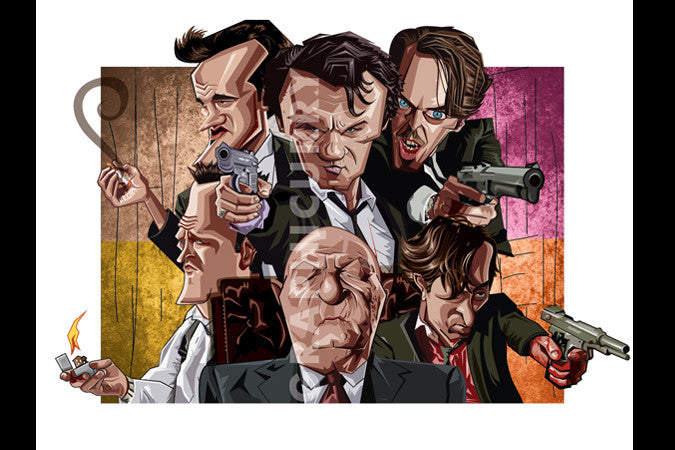 Reservoir dogs Wall Art by Graphicurry