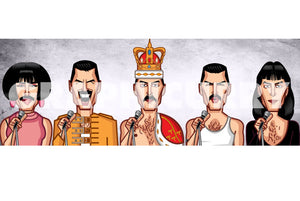 Freddie Mercury Artwork by Prasad Bhat