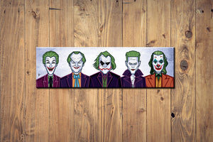 Evolution of the Clown Wall Art