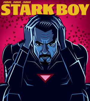 Stark meets Weeknd by Prasad Bhat