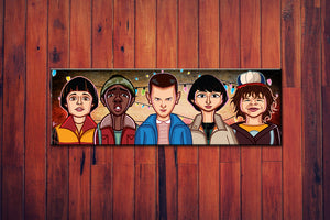 The Stranger Kids Wall Art