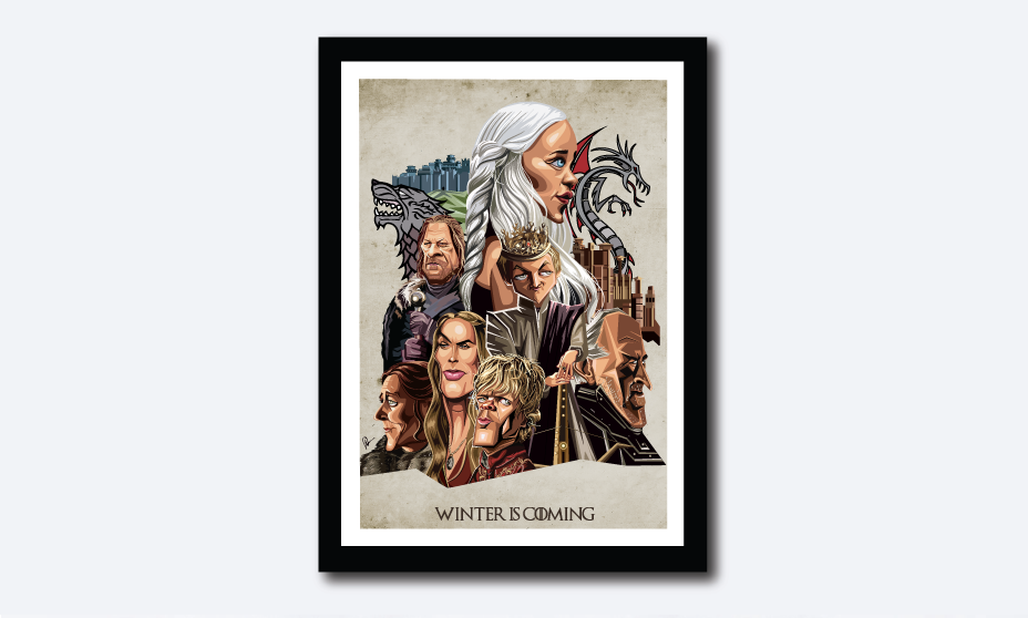 Winter is Coming Poster - Graphicurry Store
