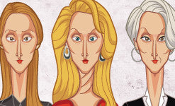 Evolution of Meryl Streep