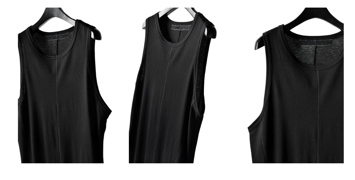 MULTI OVERLOCKED TANKTOP / Draped Underwear