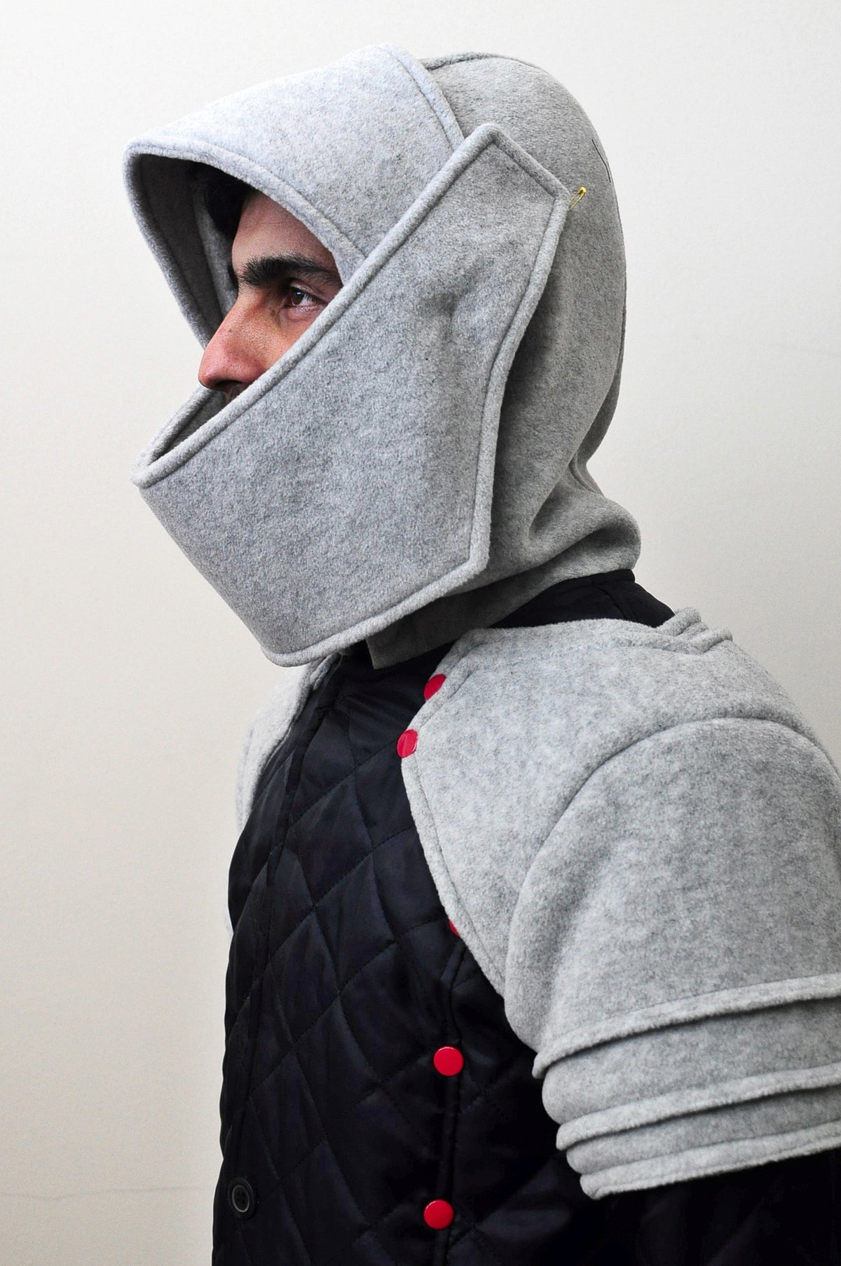 Duncan Armored Knight Hoodie Sweatshirt Polar Fleece Assassin's Creed JACKET