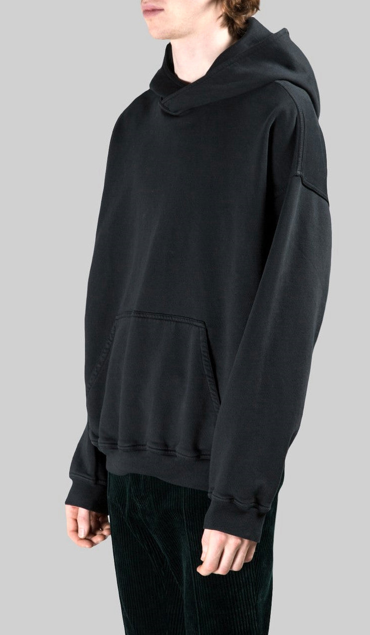 Activewear /Sportswear Oversized Drop Shoulder Hooded Sweatshirt Slashed Hoodie / College Sweatshirt / drop shoulders