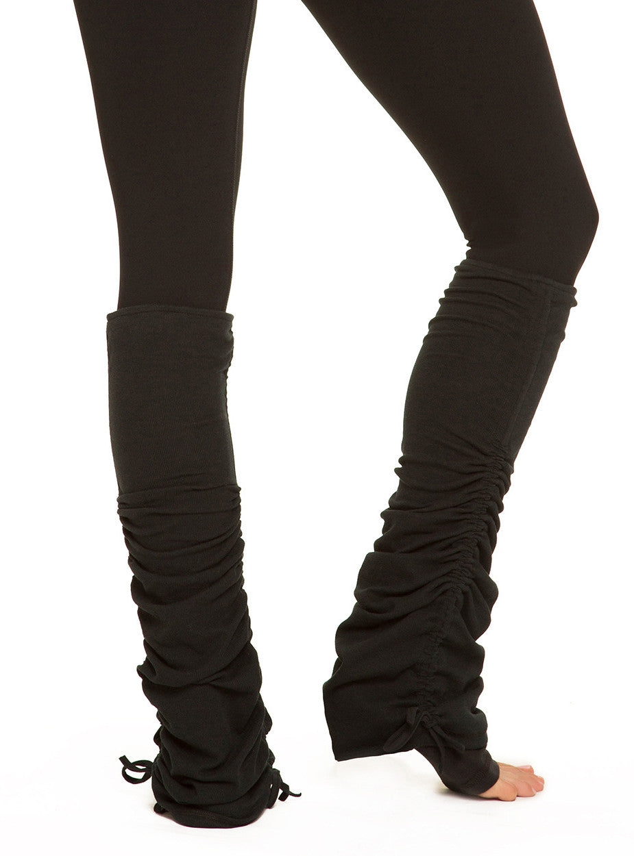 Activewear! Leg Warmers / Sports Casual Yoga Fitness Leg Warmers Black / Dance Yoga Accessory/ Yoga